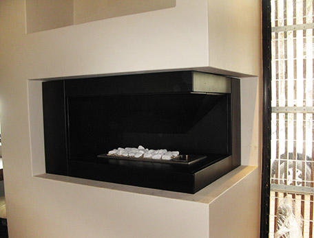 Gas | Wood | Stainless Steel Fireplaces | Exclusiv Design ...